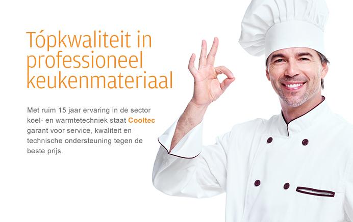 Topkwaliteit in professioneel keukenmateriaal